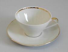 Bareuther Waldsassen – Kaffeetasse mit Untertasse – Goldrand – 50er/60er Jahre