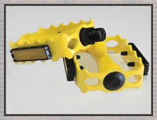"""ALLOY 9/16"""" Bicycle Pedals MTB Fixie Track Bike Pedals  5 Colors Available"""