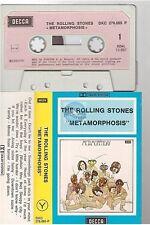 ROLLING STONES cassette K7 tape METAMORPHOSIS french DKC 278.065-P paper label