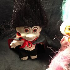 troll dolls Easter rabbit and Dracula plus (5)Vintage collectible