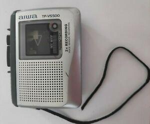 Vintage Aiwa TP-VS500 Cassette Recorder Walkman