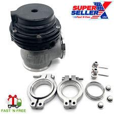 MVS 38mm External Turbo Wastegate Black - Fits Tial Springs & Flange - 22PSI USA