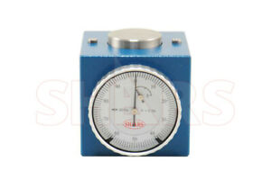 """Magnetic Z Axis Dial Zero Pre Setter Tool 2"""" Height .0004"""" Gage Offset CNC P]"""