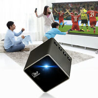 Portable 30 lumens DLP HD 1080P Video Home Theater Projector Multimedia Player