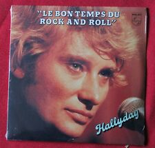 Johnny Hallyday, le bon temps du rock and roll / dommage, CD single