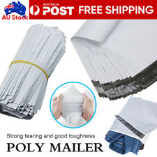 100Pcs Poly Mailer Post/Courier Bag Plastic Satchel Self Sealing Shipping Bag