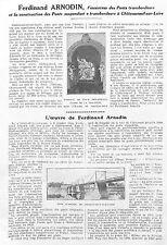 CHATEAUNEUF-SUR-LOIRE STE FERNAND ARNODIN ETS BASILE BAUDIN ADP 1924