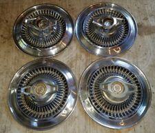 "Vintage Buick 14"" Hubcap Spinner Set of 4"
