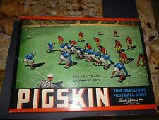Vintage 1940's Tom Hamilton's PIGSKIN Football Board Game Parker Bros. - EX