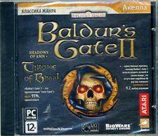Baldur's Gate 2: Shadows of Amn & Throne of Bhaal | PC DVD RUSSIAN