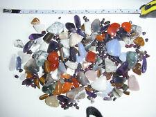 Large collection tumbled / polished Gems Gemstones Semi-Precious Amethyst Agate