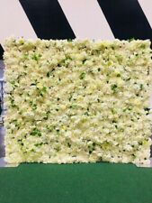 Flower Wall For *HIRE ONLY* 7ft by 7ft White / Ivory