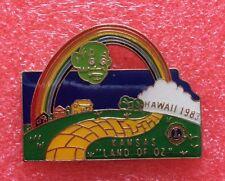 Pins LIONS CLUB Lioness HAWAI 1983 KANSAS Land Of OZ International