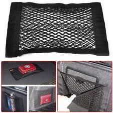 Universal Car Truck Seat Rear Pocket Storage Organizer Net Bag w/Magic Tape