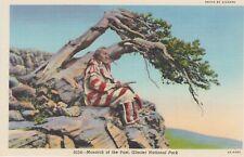 "Postcard ""MONARCHS OF THE PAST""  AMERICAN, Glacier National Park NM"