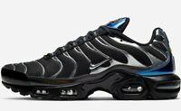Nike Air Max Plus Tuned Tn - Black / Metallic Grey - Sizes 6-12UK CW2646-001
