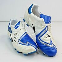 Concord Youth 3.5M Soccer Cleats Style Curuhtempc  Blue White Sneakers Lace Up