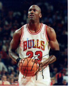Michael Jordan Autographed Signed 8x10 Photo Chicago Bulls reprint