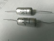 (2) Capacitor Condensor 0.22uf 630V MIFLEX for 45A 2A3H VT52 300B 50 VT25 71A SE