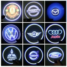 2x LED Car Door LED Welcome Laser Projector Logo Ghost Shadow Light Car Auto