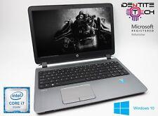 "Cheap Gaming Laptop HP Probook G2 Intel i7 16GB Ram 500GB Ram 15.6"" Windows 10"