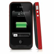 Mophie Juice Pack Plus Rechargable Case 2000mAh for iPhone 4 / 4S - Red