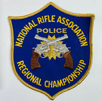 NRA Police Regional Championship National Rifle Association Patch (A2-C)