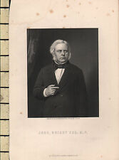C1830 georgiano stampa ~ John Bright ESQ M.P