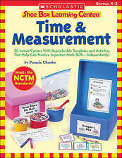 Shoe Box Learning Centers: Time & Measurement: 30 Instant Centers With Reproduci
