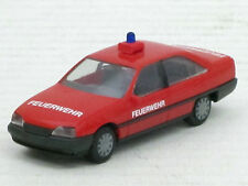 "Opel Omega GLS Limousine in rot ""Feuerwehr"", o.OVP, Herpa, 1:87"