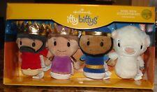 Hallmark Itty Bitty's Nativity Wisemen & Sheep Collector's Set Nib
