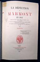 Rapetti La Defection de Marmont (Der Defekt von Marmont) 1858 Geschichte sf