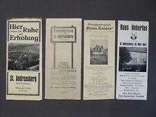 Reiseprospekt Höhenluftkurort St. Andreasberg im Oberharz, von 1931