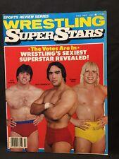 Wrestling Super Stars Magazine Fall 1982 WWE WWF WCW NWA AWA Pro Illustrated