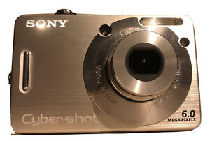 Sony Cybershot Digital Camera with 2 Rechargeable Batteries and Battery Charger