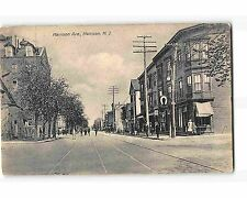 ST1714: HARRISON AVE. HARRISON NJ (phototype postcard 1911 PM)