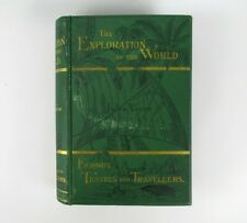 JULES VERNE - The Exploration of the World - Famous Travels - 1st Edition 1879