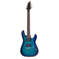 Schecter C-6 Plus Ocean Blue Burst OBB B-Stock Electric Guitar C6 C 6