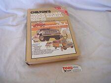 Chilton's Truck And Van Repair Manual 1975-1982