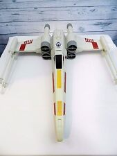 "Star Wars Large Red Squadron X-Wing Star Fighter Plastic 30"" x 25"""