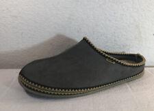 Deer Stags Slipperooz Mens Sz 16 W WHEREVER SHOES gray slippers slip-ons New