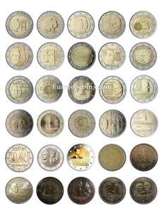 #RM# 2 EURO COMMÉMORATIVE LUXEMBOURG (2004-2021) - TOUS LES PIÉCE DISPONIBLE