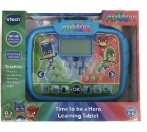 VTech PJ Masks - Time to Be A Hero Learning Tablet, 6 activities