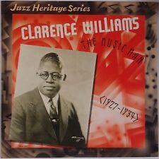 CLARENCE WILLIAMS: The Music Man RARE 1927-34 Jazz Heritage VINYL LP