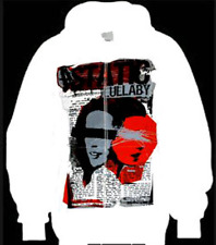 A Static Lullaby Men's Jogger Sweatshirt White  XLarge NEW