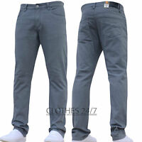 BNWT NEW MENS SLIM FIT STRETCH CHINOS JEANS WORK PANTS TROUSERS ALL WAIST SIZES