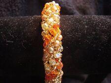 Handmade Crystal Costume Bracelets