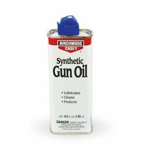 Birchwood Casey Synthetic Gun Oil for Pistol, Rifle, Shotgun Lubrication - 4.5oz