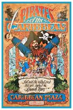"""PIRATES OF THE CARIBBEAN DISNEY COLLECTOR'S POSTER 12"""" X 18"""""""