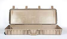 Seahorse SE1530 TAN case. NO foam / empty Includes Pelican TSA- 1720 Lock